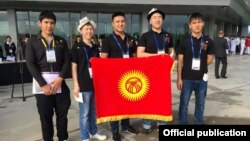 Участники международной олимпиады по химии от Кыргызстана. Таиланд, 2017 год.