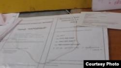 Фото автора. Бланки на приобретение пакетов мобильного оператора ДНР «Феникс»