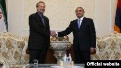 Հովիկ Աբրահամյանի և Ալի Լարիջանիի հանդիպումը Երևանում, արխիվ