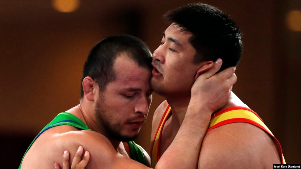 Asian connection wrestling