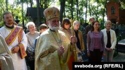 архімандрыт Сяргей Гаек на сьвяце магілёўскіх грэка-католікаў