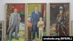 Трыптых Аляксея Панцюка-Жукоўскага «Мая Беларусь. Наскрыжаваньні стагодзьдзяў»
