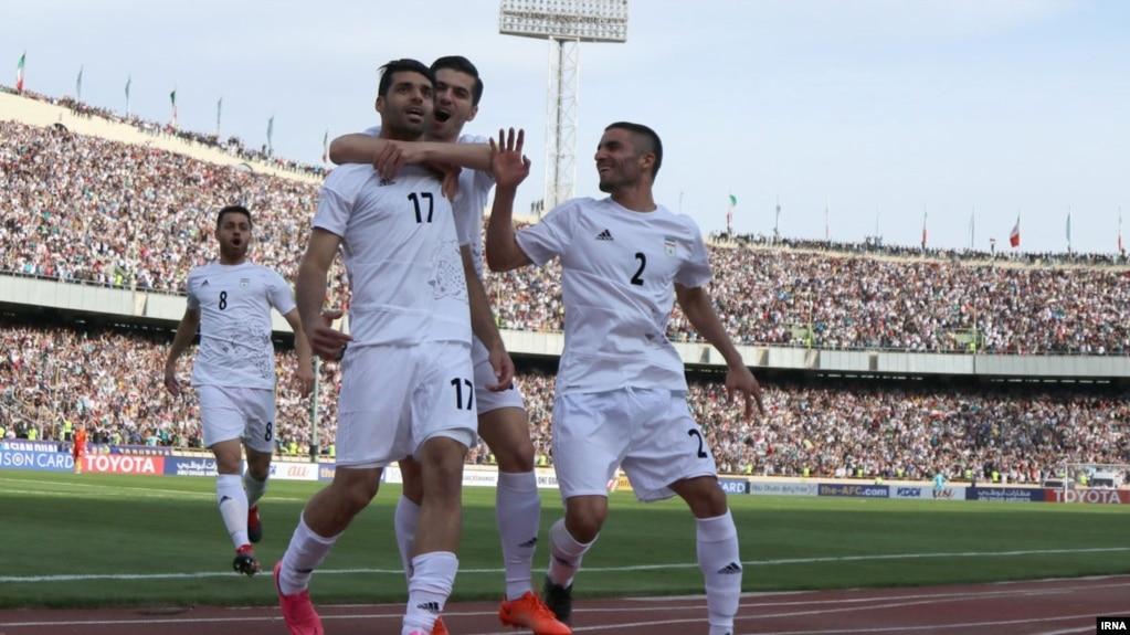 تیم فوتبال ایران با پیروزی مقابل چین یک گام به جام جهانی روسیه نزدیکتر شد