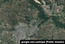 Место расположения техники. Расстояние до линии разграничения – 14 км.