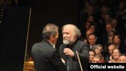 Radu Lupu și Cristian Mandeal la Festivalul Primăvara la Praga