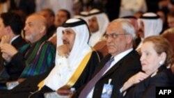 در همایش جهان اسلام و آمریکا مهمانان برجسته ای از کشورهای اسلامی و آمریکا حضور داشتند. ( عکس: AFP)