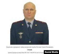 Начальник ИК-7 в Республике Карелия Сергей Коссиев