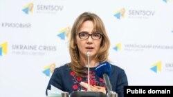 Анна Жарова (фото: Ukraine Crisis Media Center)