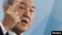 Kazakh President Nursultan Nazarbaev, hot on the trail of immorality.