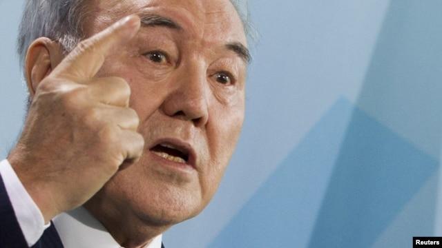 Kazakh President Nursultan Nazarbaev, hot on the trail of immorality.