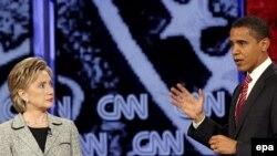 Лидером президентской гонки у демократов стал 46-летний темнокожий сенатор из штата Иллинойс Барак Обама