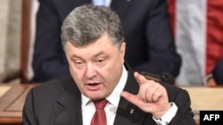 Ukrainian President Petro Poroshenko says sending more troops into eastern Ukraine will only be met by more Russian forces.