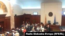 В парламенте Македонии
