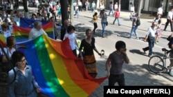 Marşul LGBT din Chişinău, 19 mai 2013