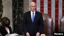 مایک پنس، معاون رئیس جمهور ترمپ