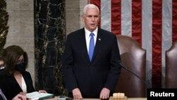 مایک پنس، معاون دونالد ترمپ رئیس جمهور فعلی امریکا