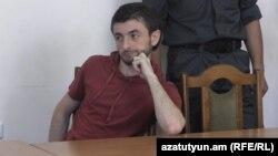 Айк Кюрегян в зале суда (архив)