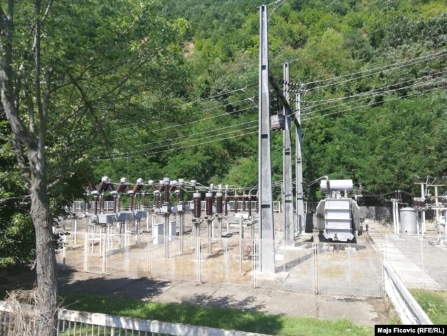 Hidroelektrana në Ujman.