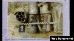 Snimaj dijela raketnog motora avio-bombe prikazan na suđenju Ratku Mladiću