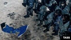 Площадь Независимости в Киеве, утро 11 декабря