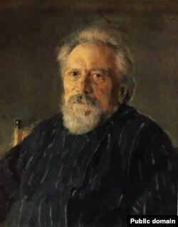 Николай Лесков (1831-1895). Художник Валентин Серов, 1894