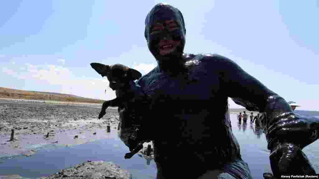 Çamur vannalarını köpekler bile ala