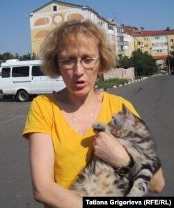 Любимого кота Светлана Романова вынуждена пока отдать подруге