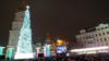 На Софійській площі в Києві засяяла вогнями головна ялинка країни (фото+відео)