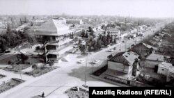 Ağdam şəhəri işğaldan əvvəl