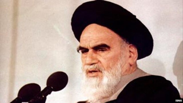 The late Ayatollah Ruhollah Khomeini