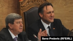 Eduard Kukan i Ranko Krivokapić