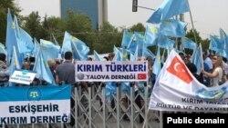 Під час вшанувань в Анкарі, 13 травня 2017 року
