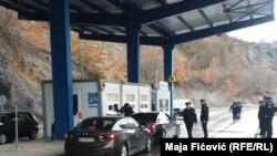 Граница между Сербией и Косово. Иллюстративное фото.