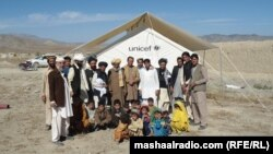 د افغان حکومت له خوا د وزیرستان بې کوره شوو ماشومانو ته جوړ کړل شوی ښوونځی
