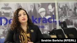 Vjosa Osmani: Nijedan dobar sporazum o Kosovu ne može da se postigne bez blagoslova Sjedinjenih Država
