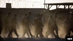 Немецкие военные в Кундузе, Афганистан.