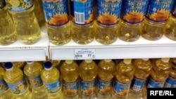 Цена на подсолнечное масло в Донецке