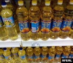 Ціна на олію в Донецьку