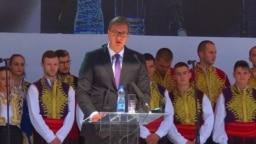 Vučić je u Severnoj Mitrovici kazao da je Milošević bio veliki srpski lider sa najboljim namerama, ali sa mnogo lošijim rezultatima