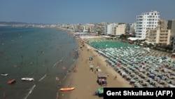 Sve je više turista koji idu u Albaniju, na fotografiji Drač