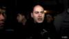Մարտուն Գրիգորյանը Գյումրիում Շիրակի մարզի դատախազության շենքի առջև, 16-ը հունվարի, 2015թ․