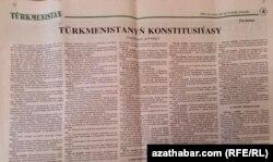 Konstitusiýanyň täze taslamasy