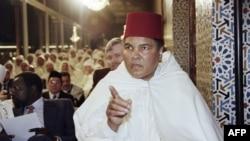 Muhammad Ali Rabatda sarayda Ramazan bayramına qatılıb (1998)