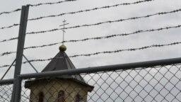 Imagine de la închisoarea de tineri de la Goian