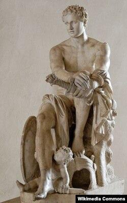 Ares - qədim Yunanıstanda müharibə allahı