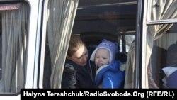 Переселенці з Донбасу, архівне фото