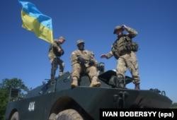 Вояки України і США на полігоні на Львівщині, 4 липня 2016 року