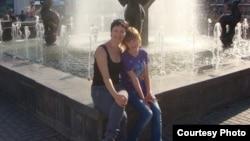 Юлия Краснова с дочкой Ксенией Стребличенко