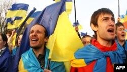 "Митиг ""За единую Украину"" в Донецке"