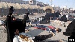 يک هزار و ۹۷۱ نفر از شهروندان عراقی در ماه ژانويه و در جريان اعمال تروريستی جان خود را از دست داه اند.